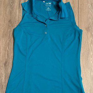 Blue Adidas Golf sleeveless shirt size XS